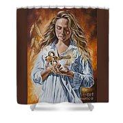 The 7 Spirits Series - The Spirit Of Understanding Shower Curtain