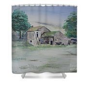 The Abandoned House Shower Curtain