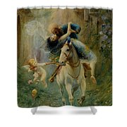 The Abduction In Cairo Shower Curtain