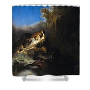 The Abduction Of Proserpina Shower Curtain