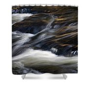 The Abstract Of Motion Shower Curtain