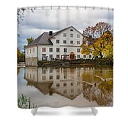 The Academy Mill Ws Shower Curtain