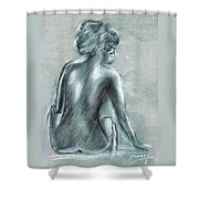 The Actress Shower Curtain