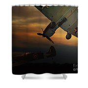 The Air Battle Of Britain Shower Curtain