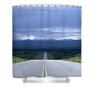 The Alcan Hwy Shower Curtain