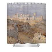 The Alcazar Of Carmona, Andalucia Shower Curtain