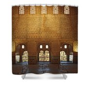 The Alhambra King Room Shower Curtain