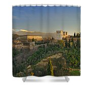The Alhambra Palace Shower Curtain