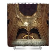 The Alhambra The Infantas Tower Shower Curtain