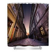 The Alley Of Cracov Shower Curtain