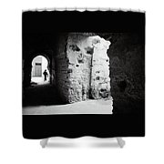 Mysterious Labyrinth  Shower Curtain