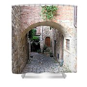The Alleyway To Home Shower Curtain