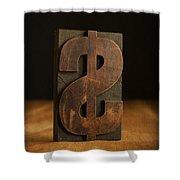 The Almighty Dollar Shower Curtain