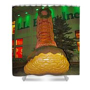 The Almighty Ll Bean Boot Shower Curtain