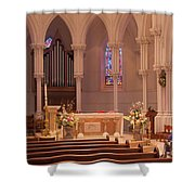 The Altar  Shower Curtain