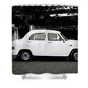 The Ambassador Car Shower Curtain