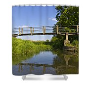 The Ambling River Shower Curtain