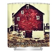The American Experience Shower Curtain