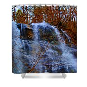 The Amicalola Waterfall Shower Curtain