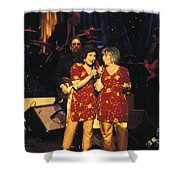 The Angels Shower Curtain