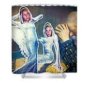 The Angels Of Nothing Shower Curtain
