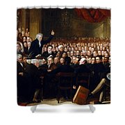 The Anti-slavery Society Convention 1840 Shower Curtain