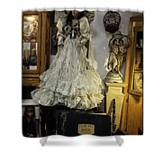 The Antique Doll Shower Curtain