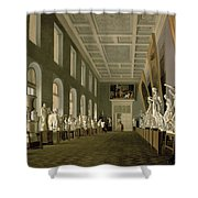 The Antiquities Gallery Of The Academy Of Fine Arts, 1836 Oil On Canvas Shower Curtain
