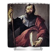 The Apostle Saint James Shower Curtain