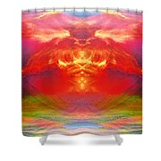 The Apparition  Shower Curtain