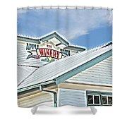 The Apple Barn Winery Pigeon Forge Tn Shower Curtain