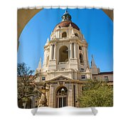The Arch - Pasadena City Hall. Shower Curtain