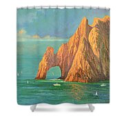 The Arch Of Cabo San Lucas 2 Shower Curtain