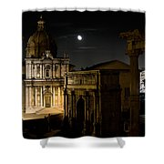 The Arch Of Septimius Severus Shower Curtain