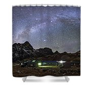 The Arch Of The Milky Way Galaxy Shower Curtain