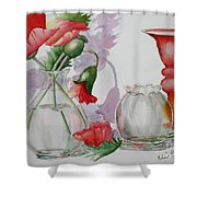 The Arrangement Shower Curtain