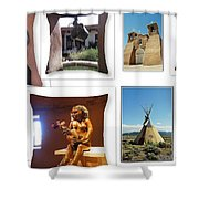 The Art Of New Mexico Shower Curtain