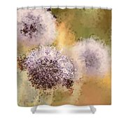 The Art Of Pollination Shower Curtain