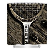 The Art Of Tennis 2 Shower Curtain