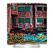 The Art Of The Streets Shower Curtain by Karol Livote