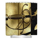 The Art Of The Sword Shower Curtain