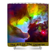 The Art Of The Universe 266 Shower Curtain