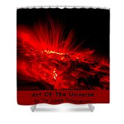 The Art Of The Universe 307 Shower Curtain