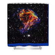 The Art Of The Universe 310 Shower Curtain