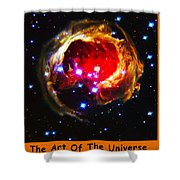 The Art Of The Universe 323 Shower Curtain