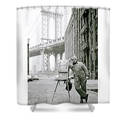 The Artist Shower Curtain