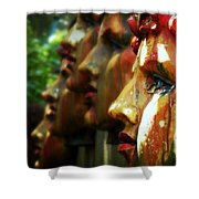 The Artist's Garden Shower Curtain