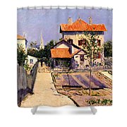 The Artists House At Yerres Shower Curtain
