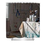 The Artists Studio Shower Curtain