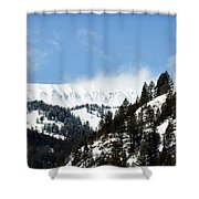 The Artwork Of Winter Shower Curtain